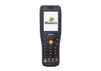 "Терминал сбора данных Urovo i3000 / Windows CE 5.0 / 1D Laser / Mindeo / Bluetooth / Wi-Fi / RAM 128 Mb / ROM 256 MB / 533 MHz / 2.8"" / 240 x 320 / 31 клавиша / 3800 mAh / 340 g / IP 54"