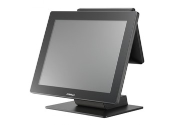 "Сенсорный терминал Posiflex RT-2015 черный, 15"" TFT P-CAP, без рамки, Intel Celeron J1900 2.0/2.4 GHz, HDD, 4 GB DDR3L, MSR, USB"